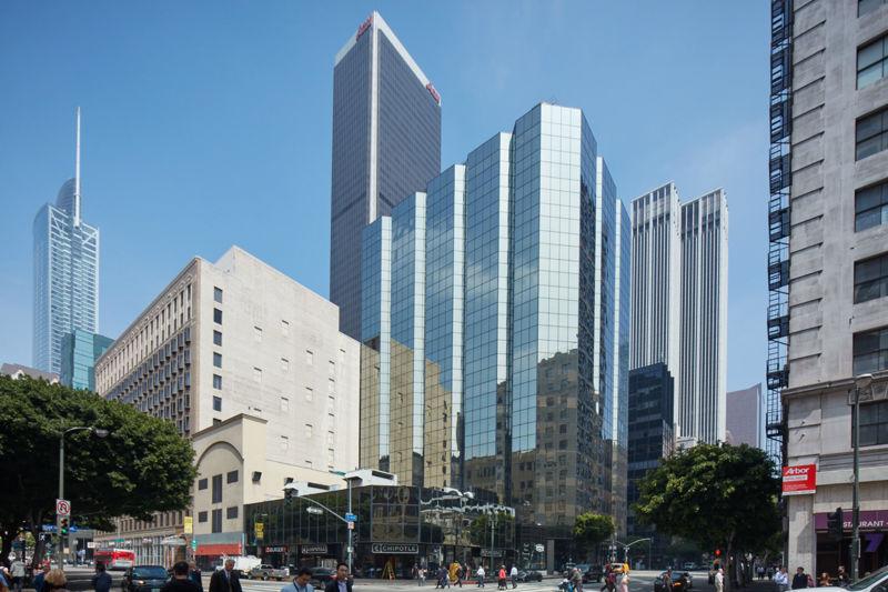 building at 600 Wilshire Boulevard