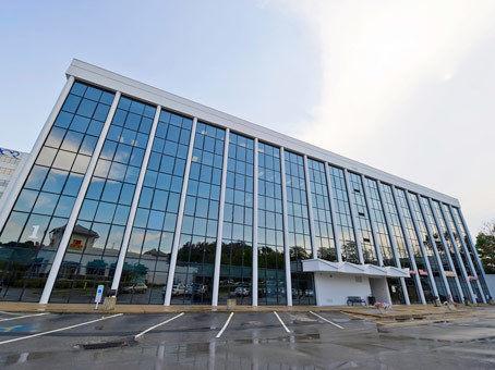 building at 201 Penn Center Boulevard