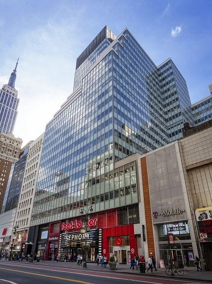 building at 111 West 33rd Street