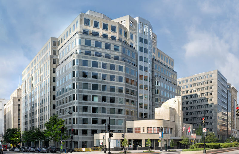 building at 1100 New York Avenue Northwest