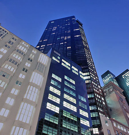 building at 142 West 57th Street