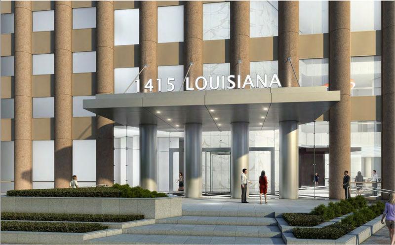 building at 1415 Louisiana Street