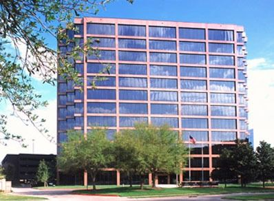 building at 2925 Briarpark Drive