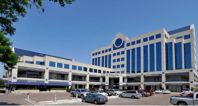 building at 8201 Preston Road