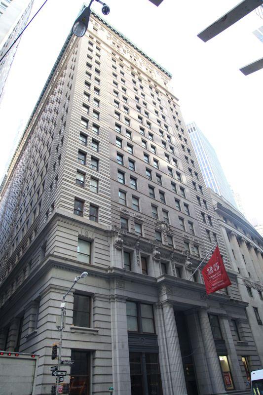 building at 25 Broad Street