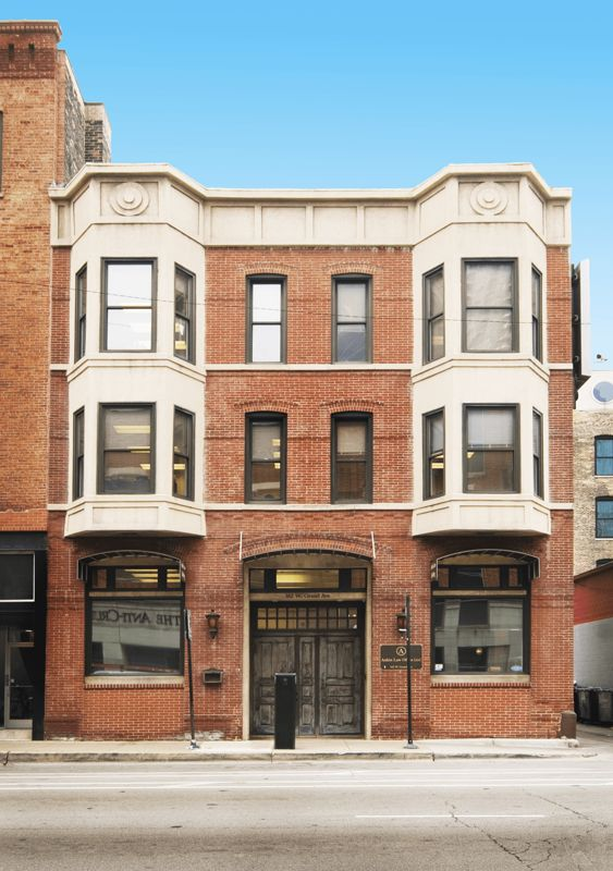 building at 162 West Grand Avenue
