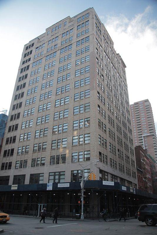 building at 99 Hudson Street