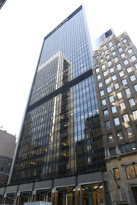 building at 38 West 57th Street