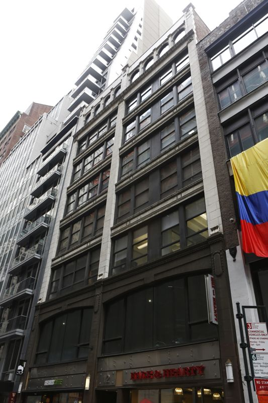 building at 12 East 46th Street
