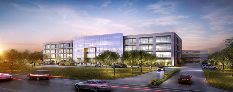 building at 4851 West Sam Houston Parkway North