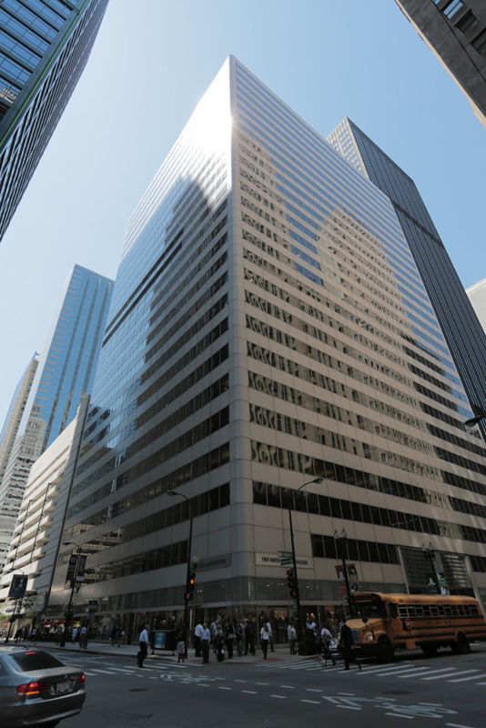 building at 2 North LaSalle Street