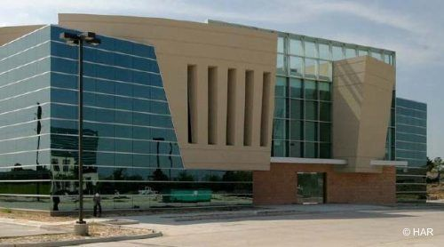 building at 7906 North Sam Houston Parkway West