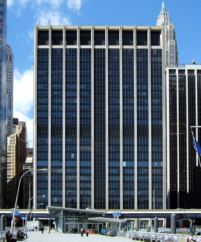 building at 111 Wall Street