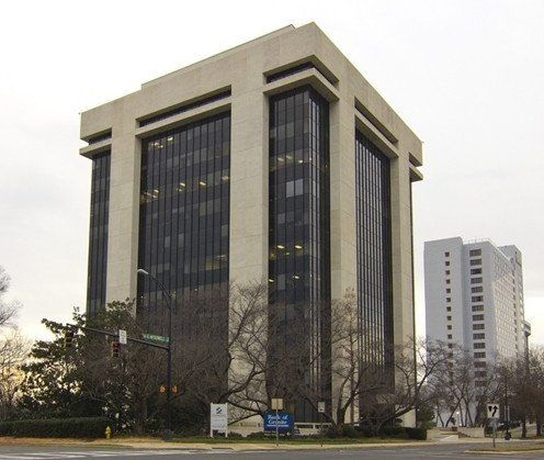 building at 301 South McDowell Street