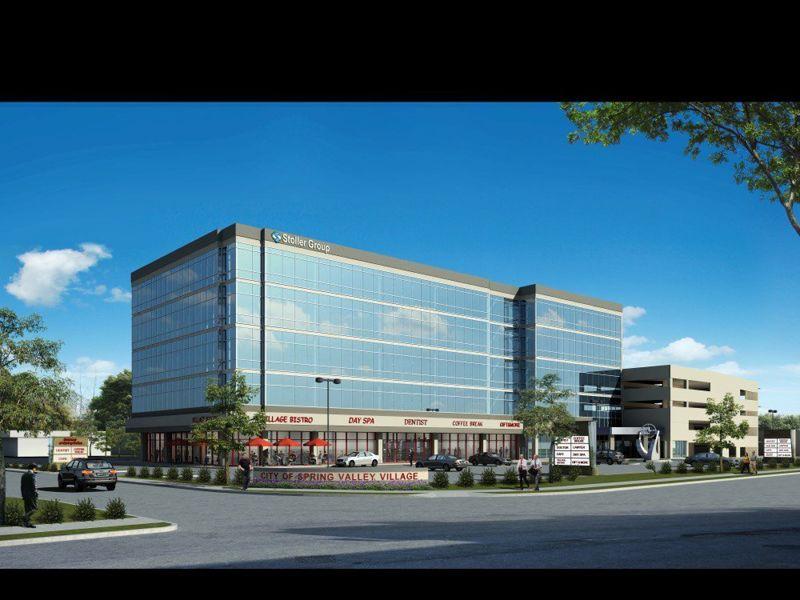 building at 9090 Katy Freeway