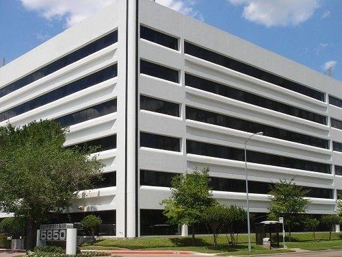 building at 5850 San Felipe Street