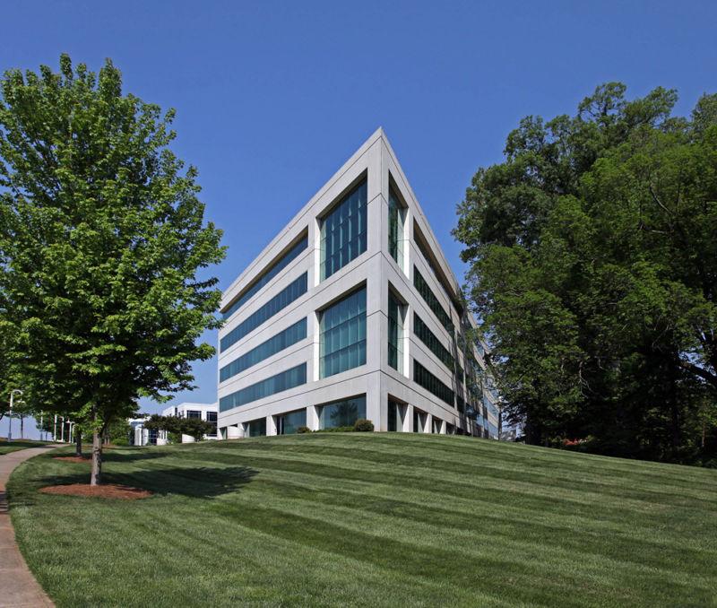 building at 6101 Carnegie Boulevard