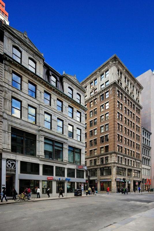 building at 87 Summer Street