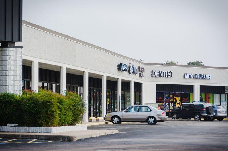 building at 6959 Harwin Drive