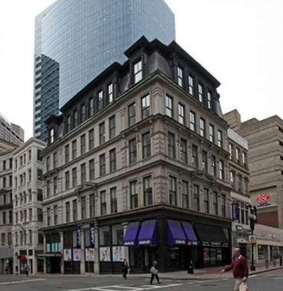 building at 1 Milk Street