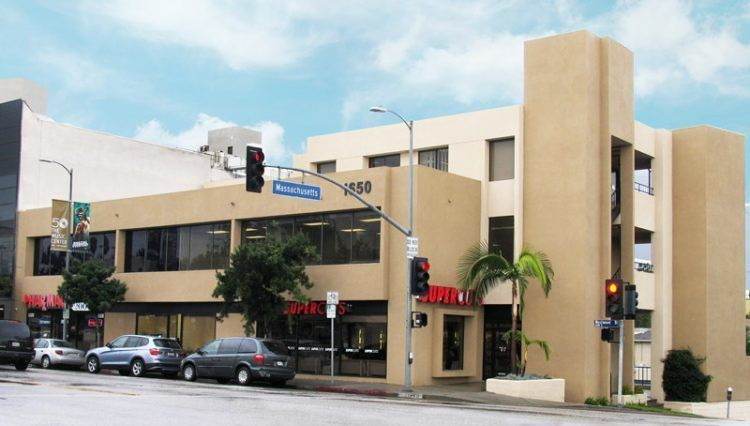 building at 1650 Westwood Boulevard