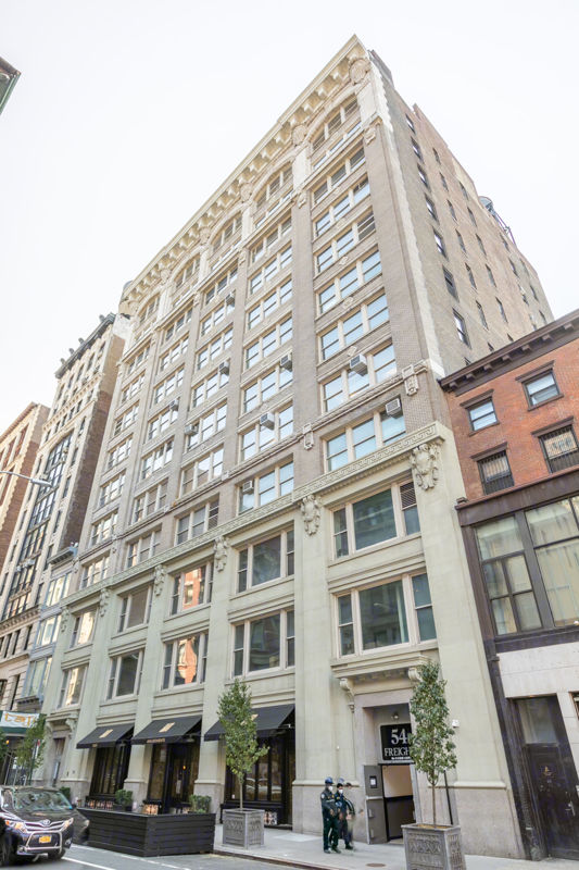 building at 5462 & 54 West 21st Street
