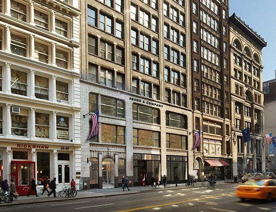 building at 53 West 23rd Street