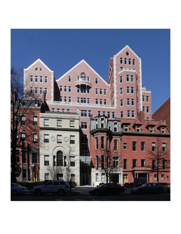 building at 1717 Rhode Island Avenue Northwest