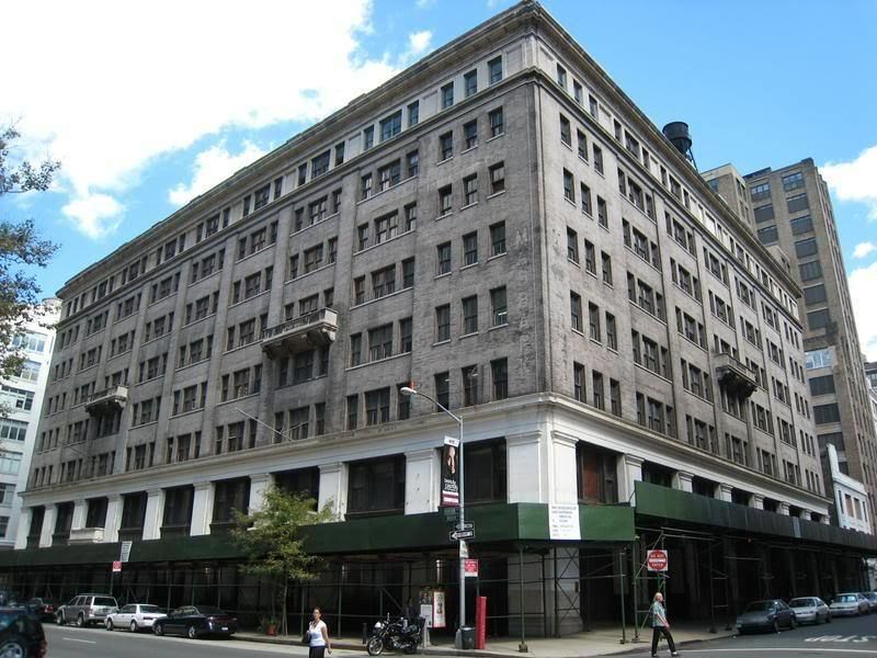 building at 330 Hudson Street