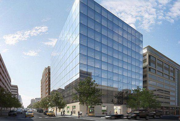 building at 2000 K Street Northwest