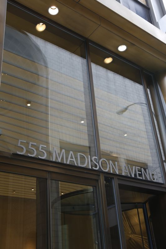 building at 555 Madison Avenue