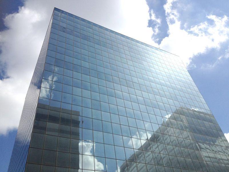 building at 8235 Douglas Avenue