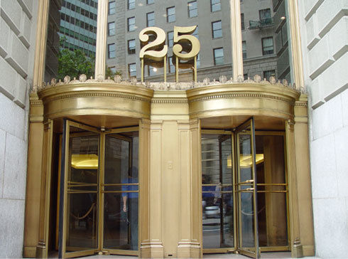 building at 25 Broadway The Cunard Building