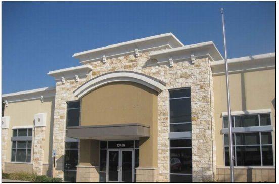 building at 13410 Preston Road