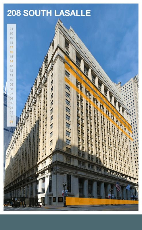 building at 208 South Lasalle Street