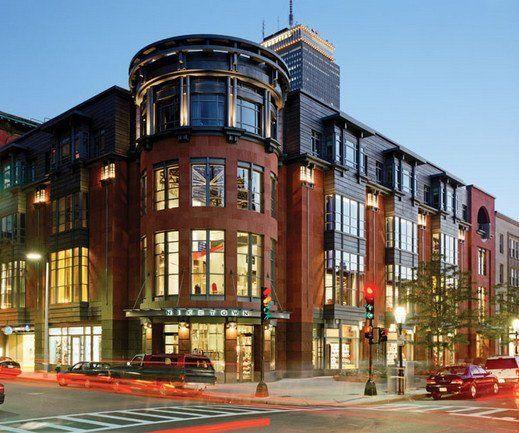 building at 200 Newbury Street