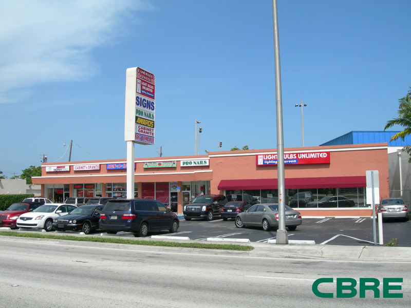 building at 12441 South Dixie Highway