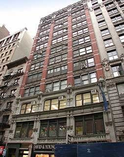 building at 28 West 27th Street