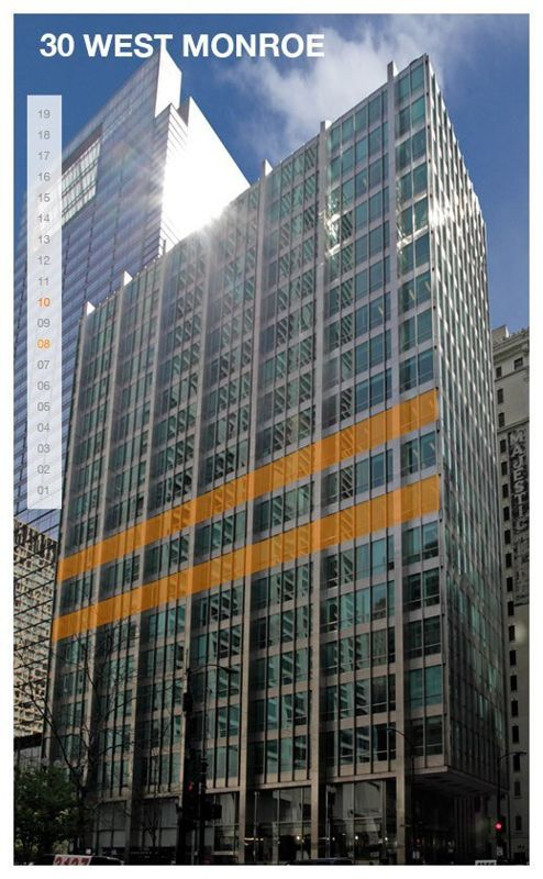 building at 30 West Monroe Street