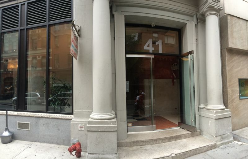building at 41 East 11th Street