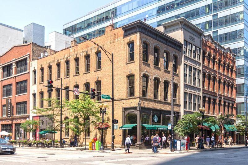 building at 430 North Clark Street