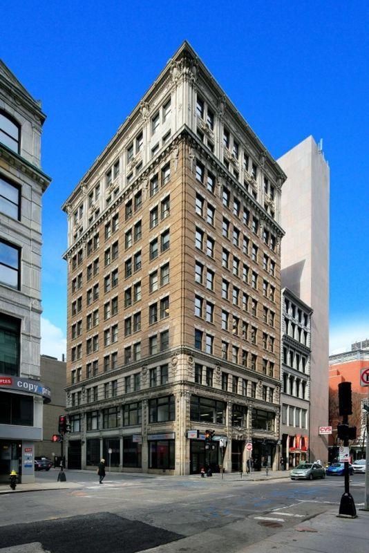 building at 77 Summer Street
