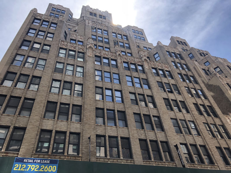 building at 216 West 29th Street