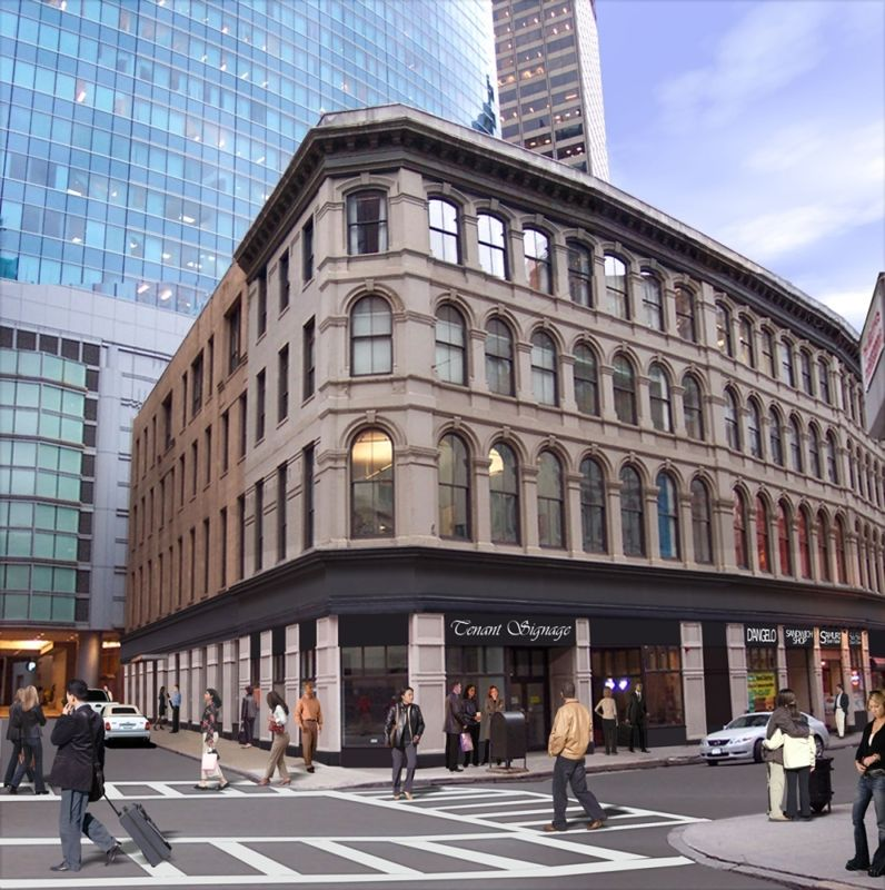 building at 50 Franklin Street