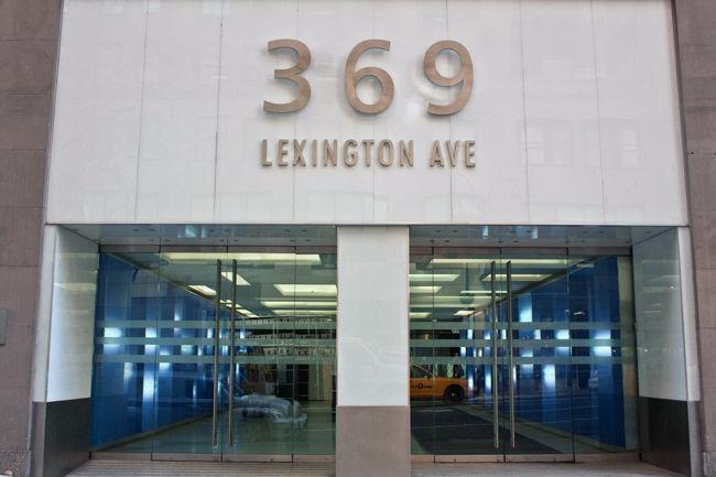 building at 369 Lexington Avenue