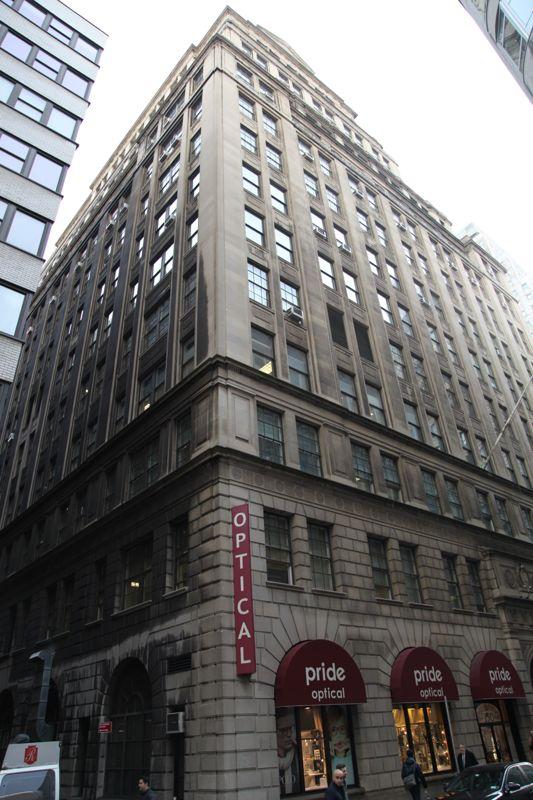 building at 150 William Street